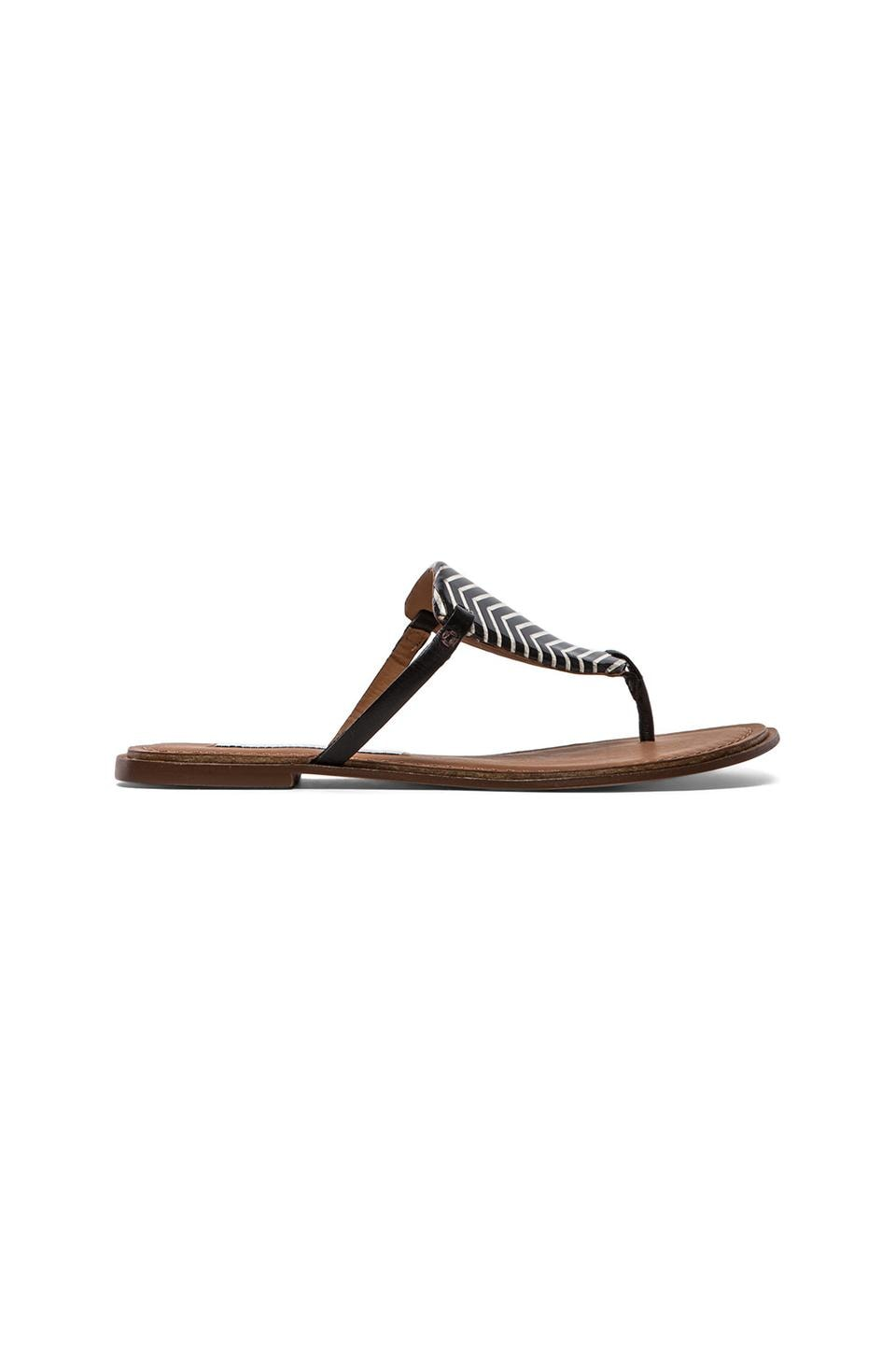 Diane von Furstenberg Kimberly Sandal in Black Multi