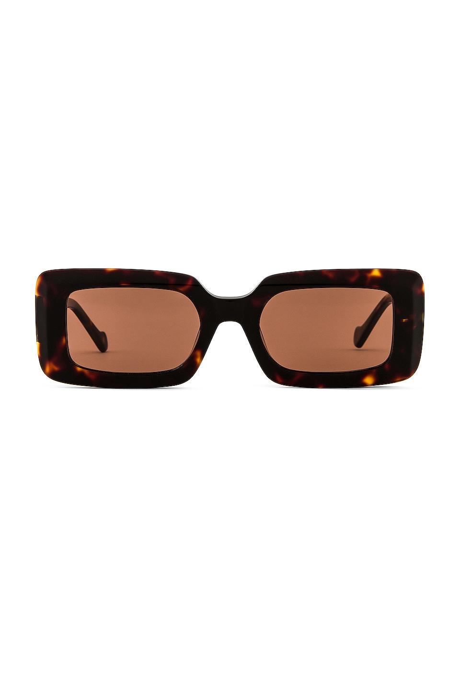 DEVON WINDSOR Havana Sunglasses in Tortoise