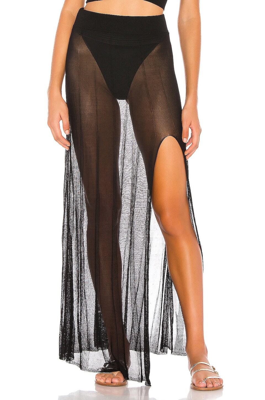 DEVON WINDSOR Isbelle Skirt in Black