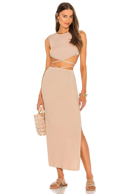 DEVON WINDSOR Sage Skirt in Dusty Rose