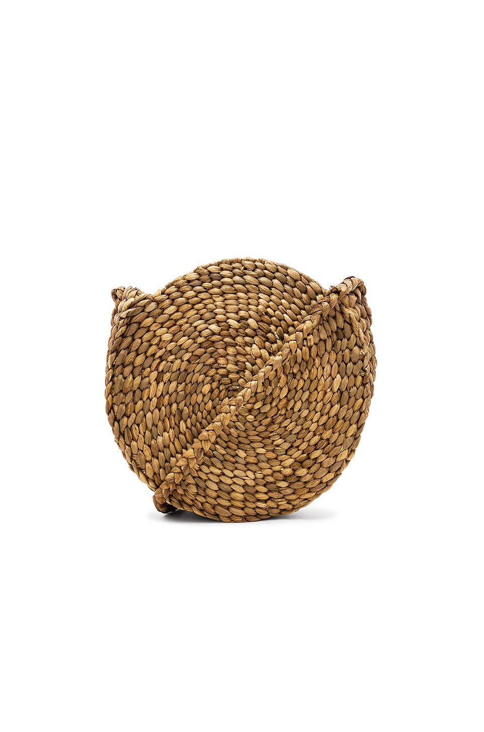 ELLEN & JAMES Paros Round Bag in Tan