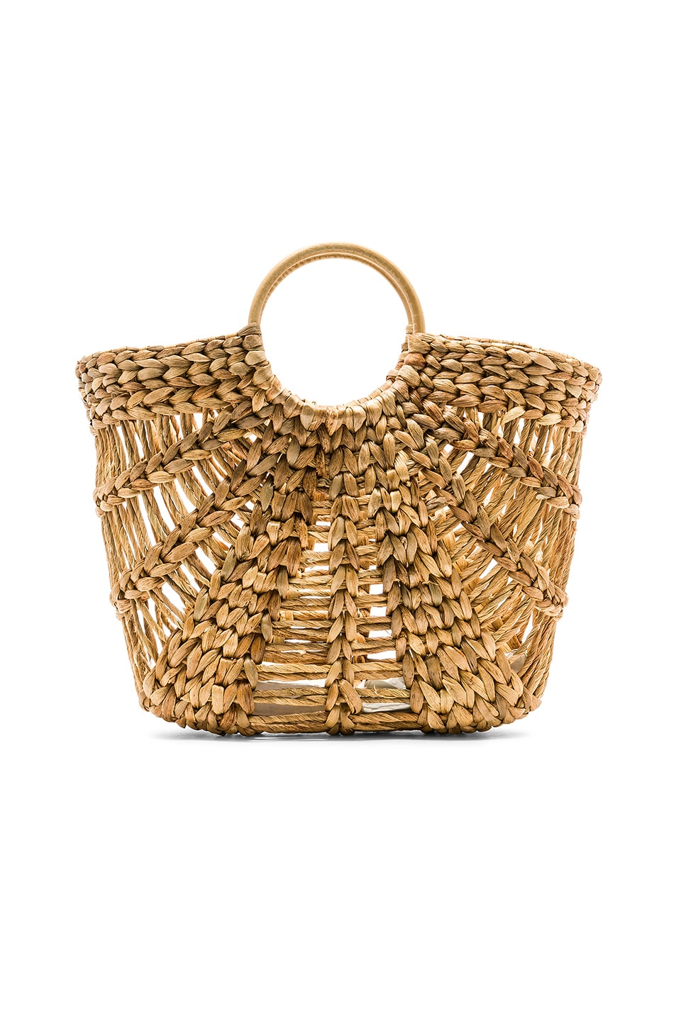 ellen & james Large Greek Raffia Bag in Rafia