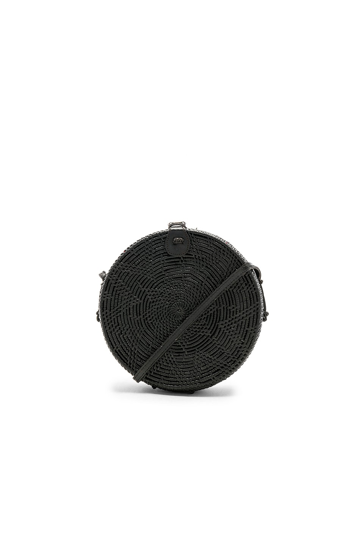 ellen & james Medium Round Bag in Black