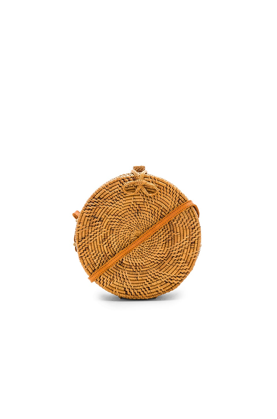 ellen & james Round Bag in Natural