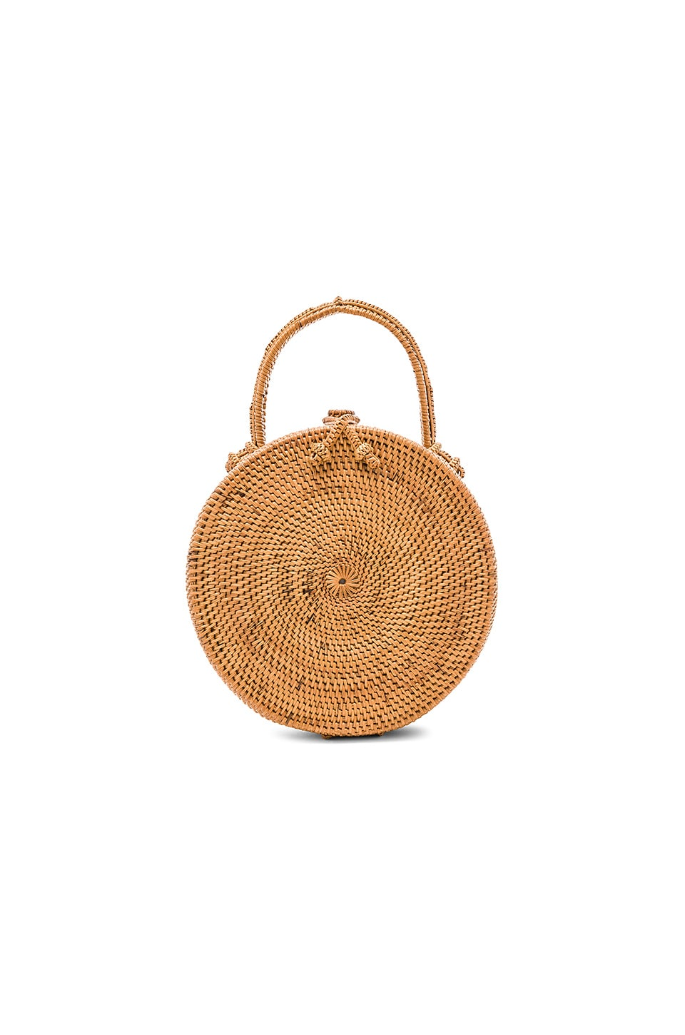 ellen & james Lou Basket Bag in Natural