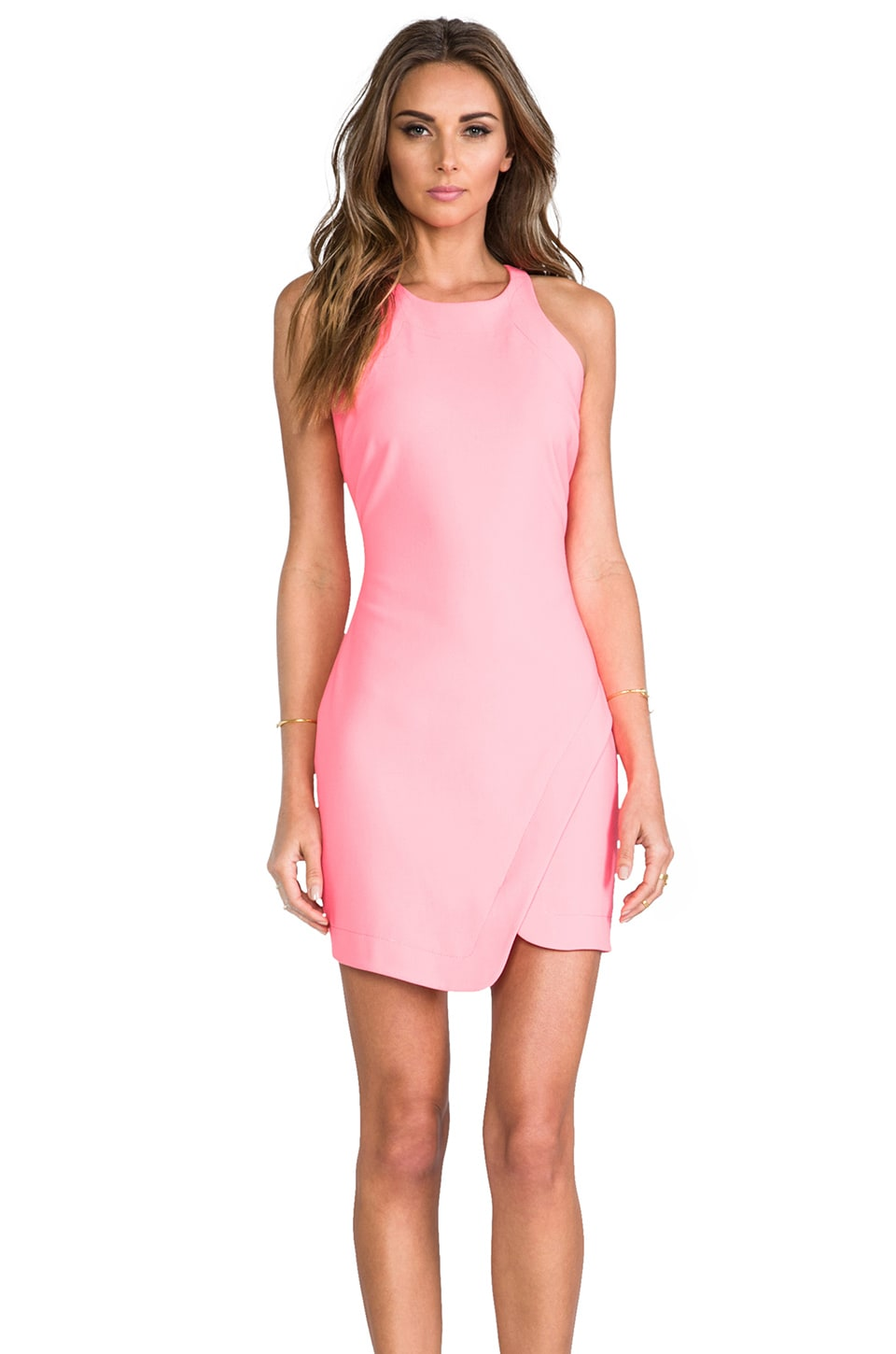 Elizabeth and James x REVOLVE Bardot Dress in Hot Coral
