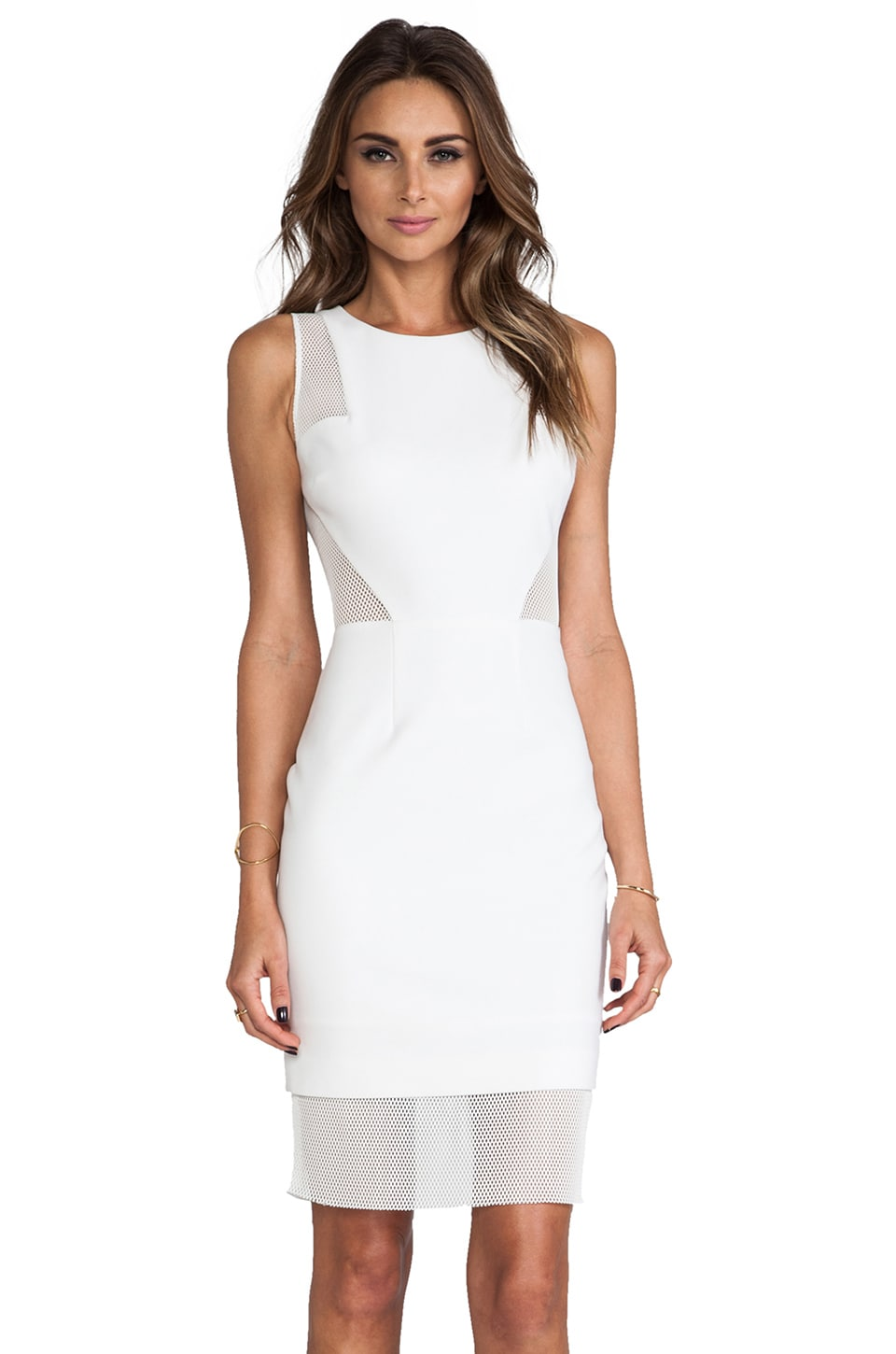 Elizabeth and James Johanna Dress in White