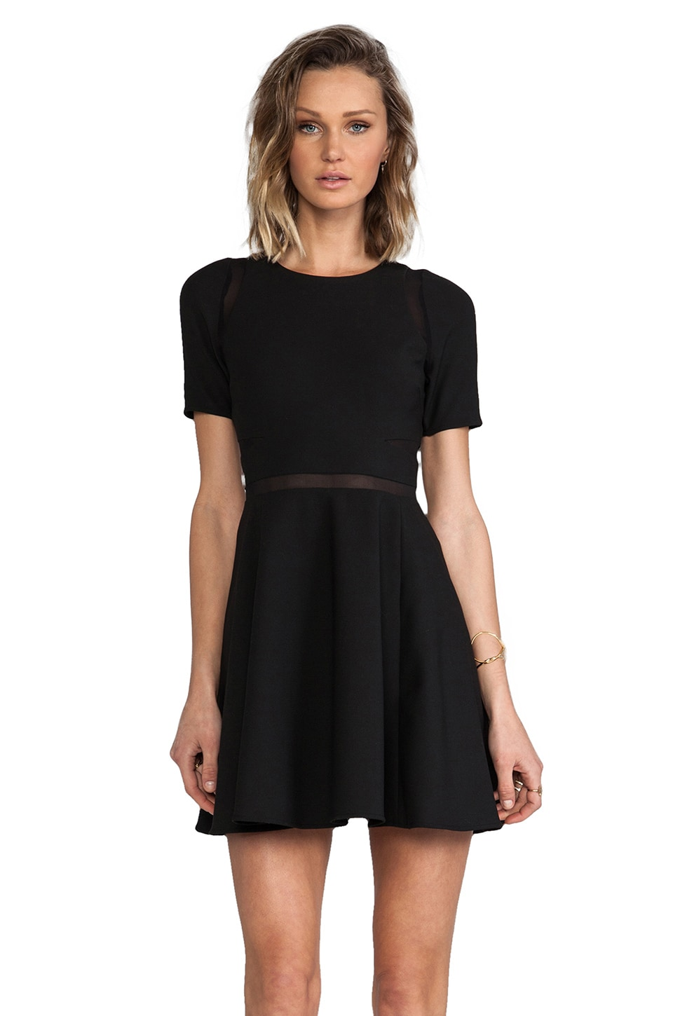 Elizabeth and James Andi Dress in Black