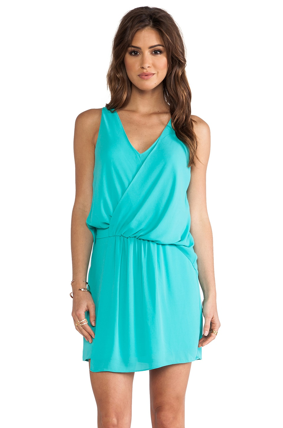 Elizabeth and James Tianna Dress in Turquoise