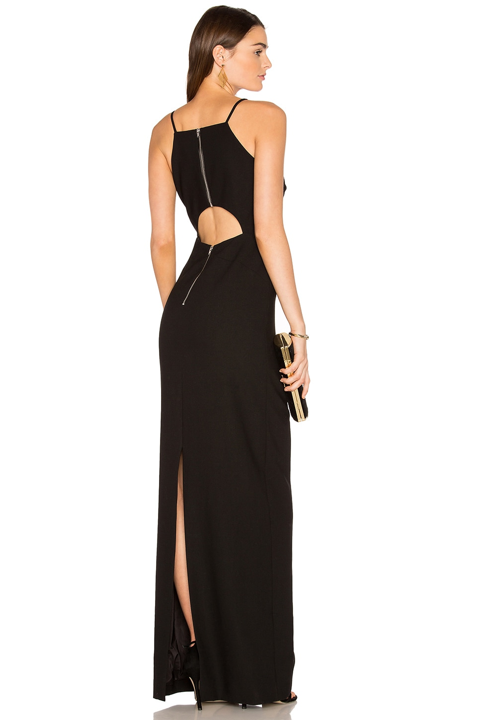 Elizabeth and James Elana Gown in Black