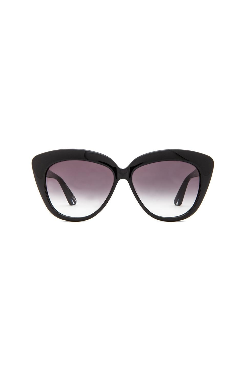 Elizabeth and James Essex Sunglasses in Black