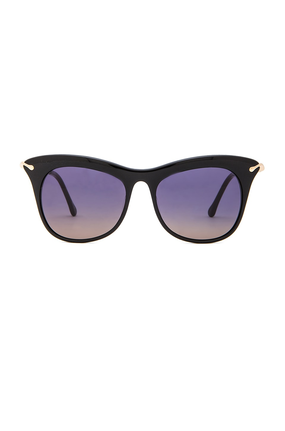 Elizabeth and James Fairfax Sunglasses in Black