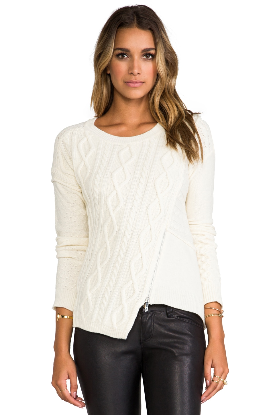 Elizabeth and James Pullover in Ivory