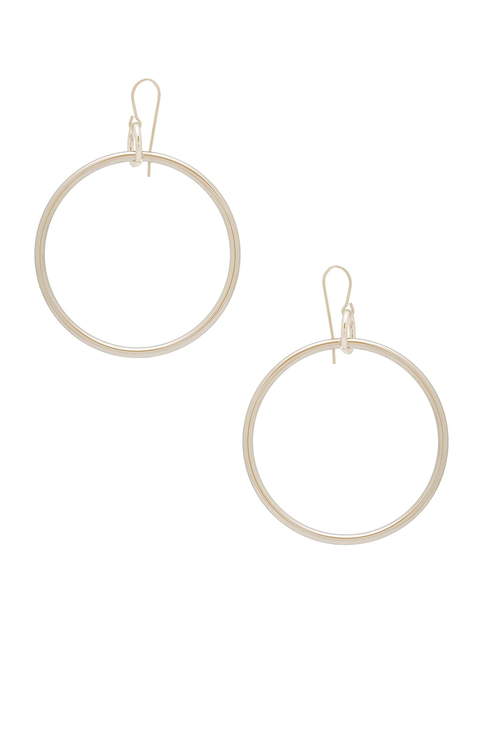 Elizabeth and James Lueur Earrings in Silver