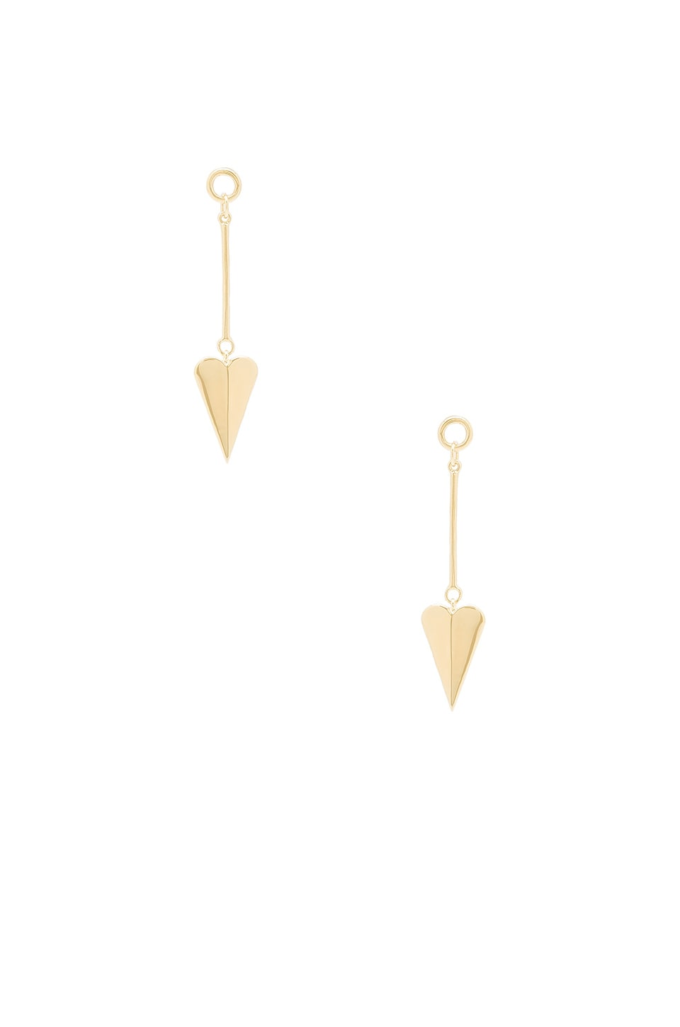 Elizabeth and James Bronte Earrings in Yellow Gold