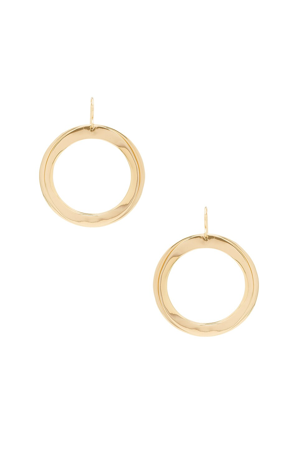 Elizabeth and James Avila Earrings in Yellow Gold