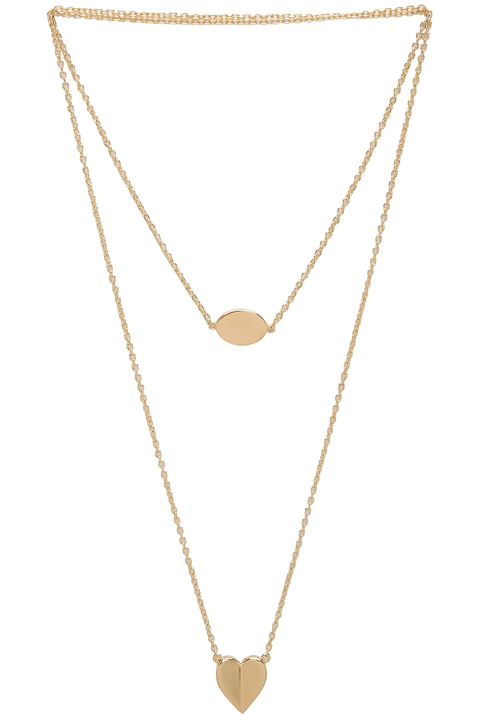 Elizabeth and James Harper Necklace in Gold