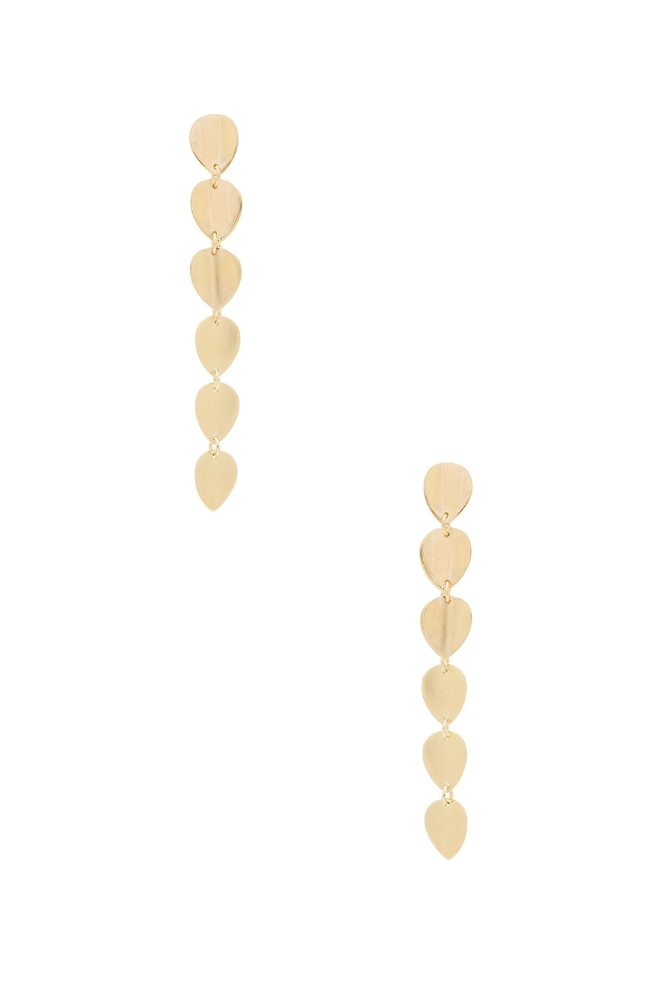 Elizabeth and James Santorini Earrings in Yellow Gold