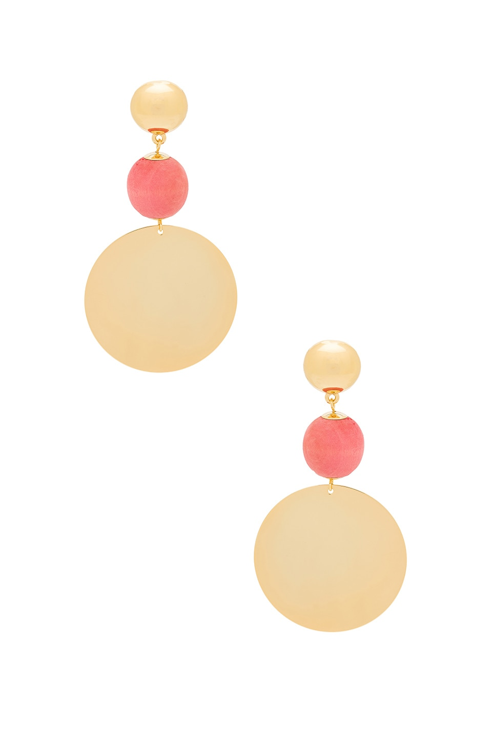Elizabeth and James Cannes Earring in Pink