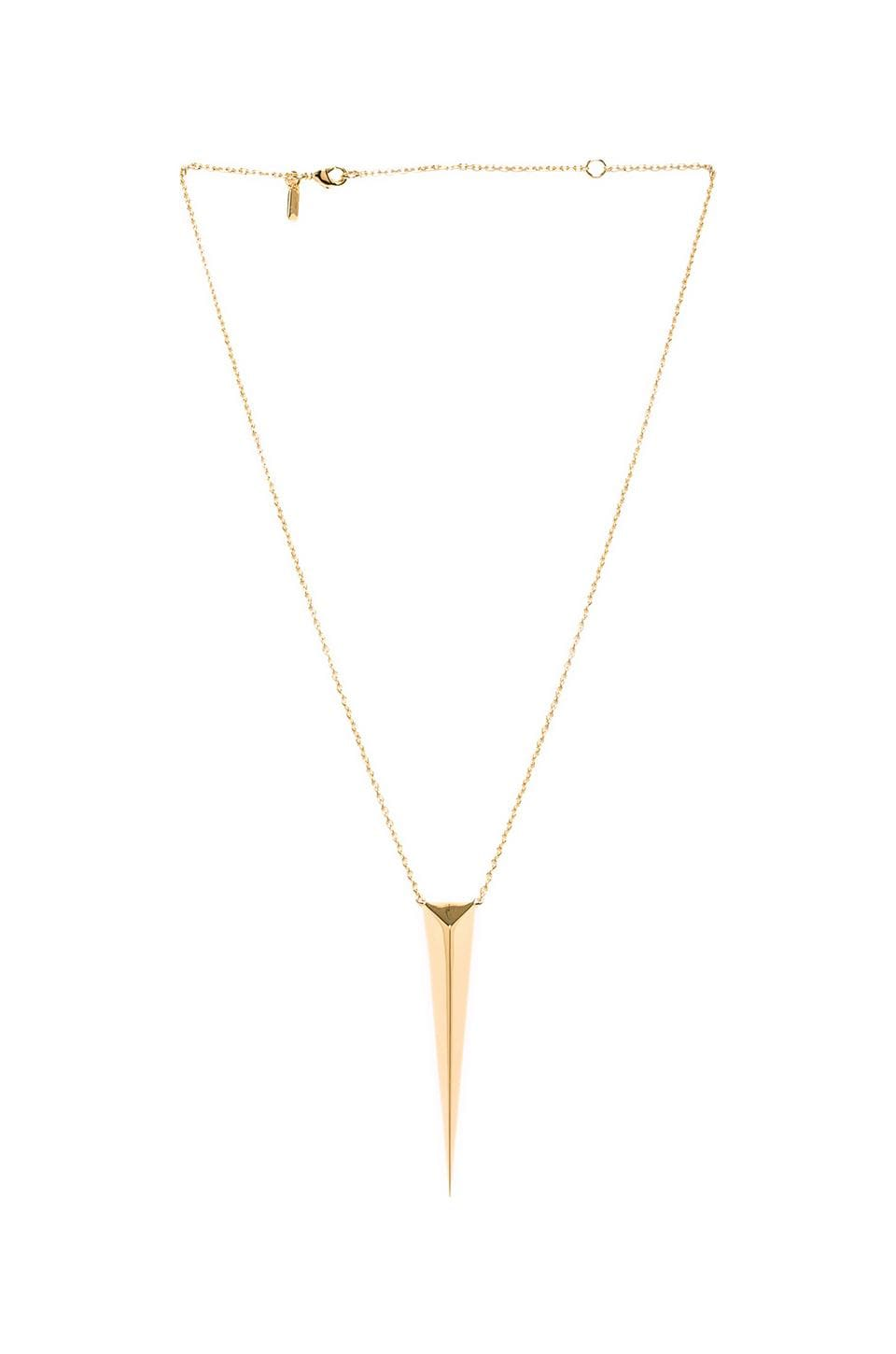 Elizabeth and James Boyd Pendant in Gold