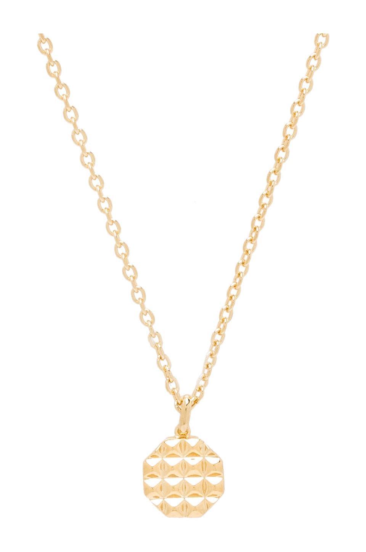 Elizabeth and James Divi Pendant Necklace in Gold