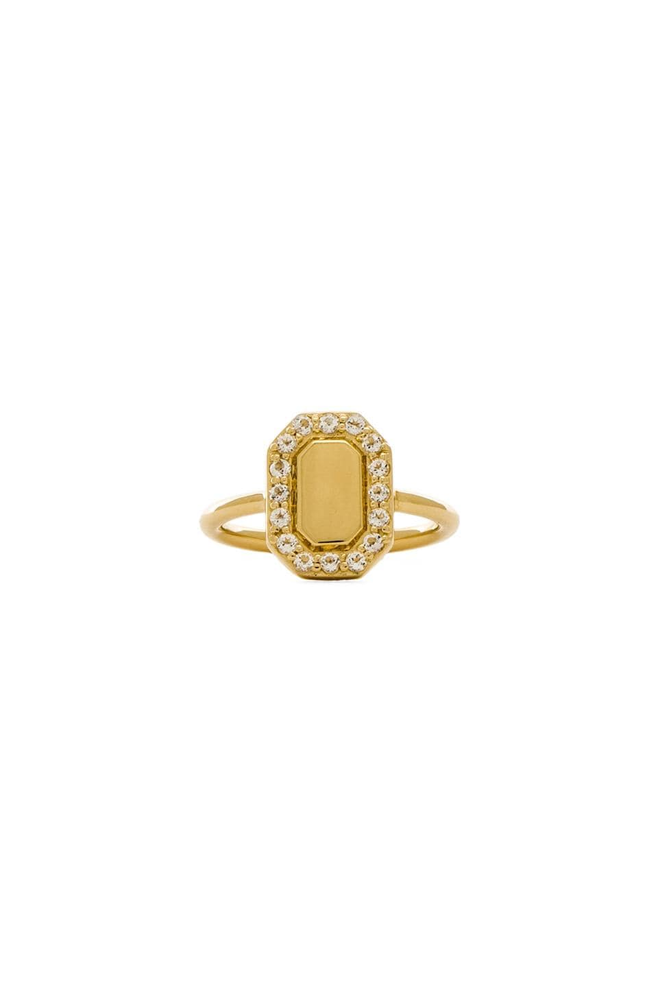 Elizabeth and James Torrens Ring in Yellow Gold