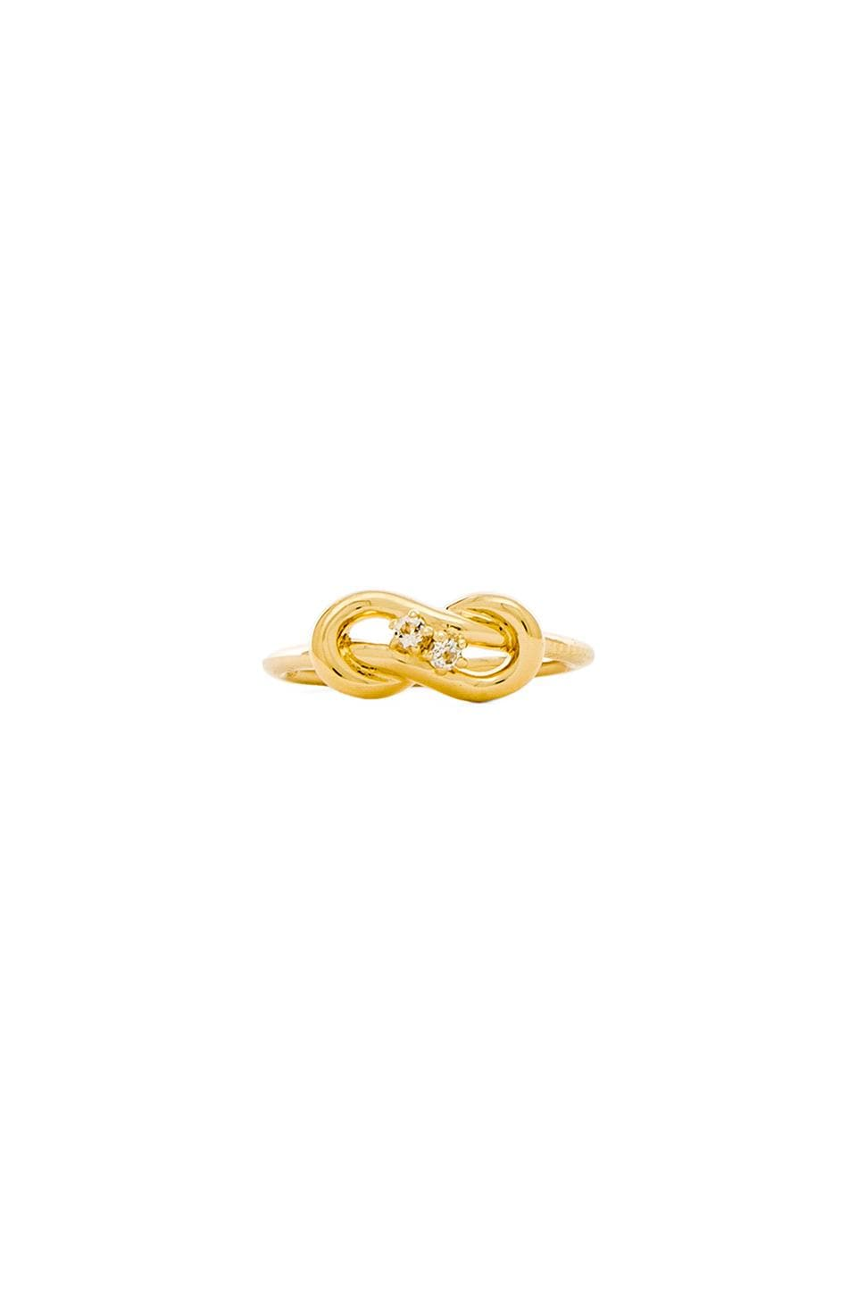 Elizabeth and James Catalan Ring in Yellow Gold