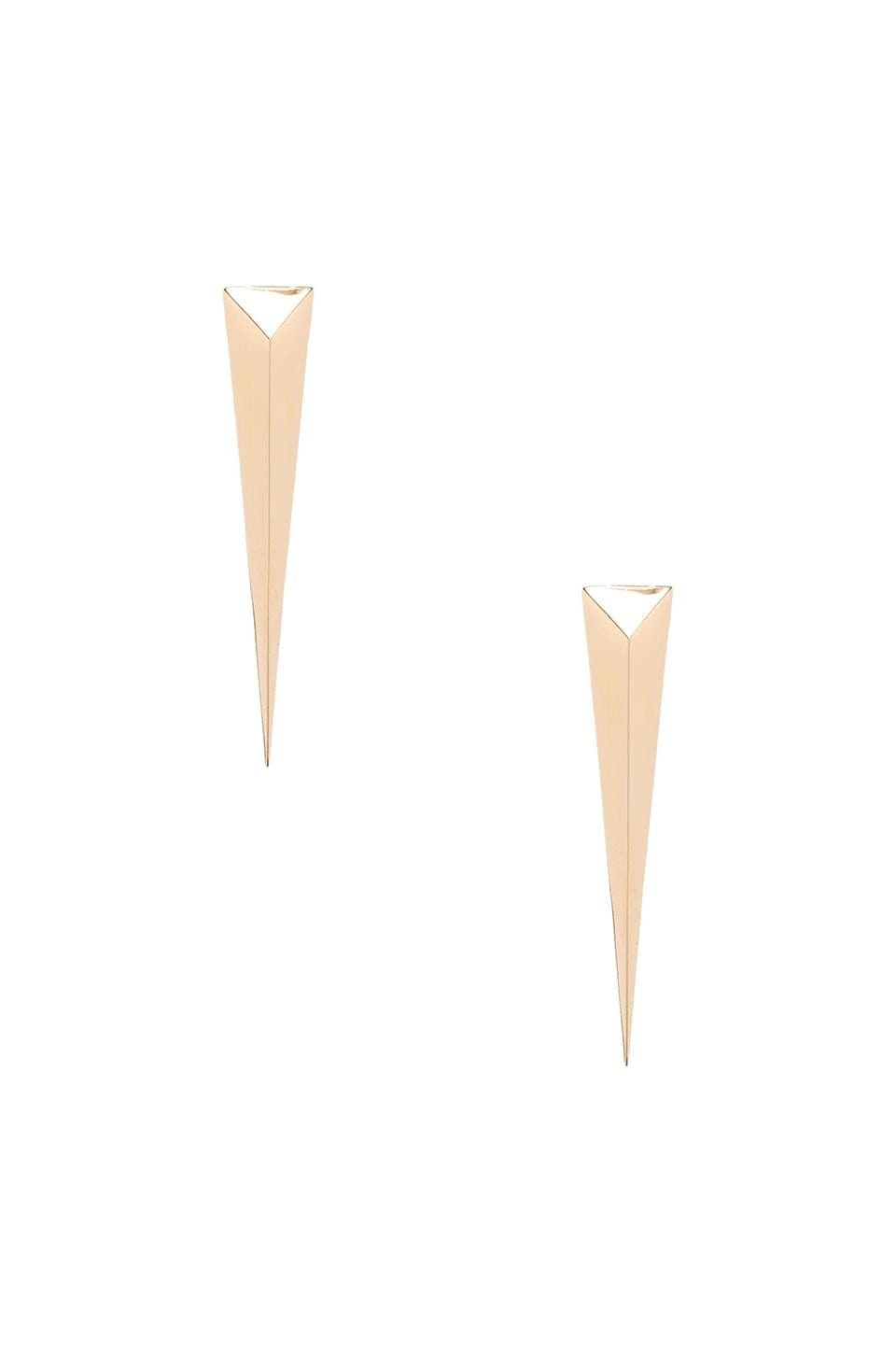Elizabeth and James Boyd Earring in Gold