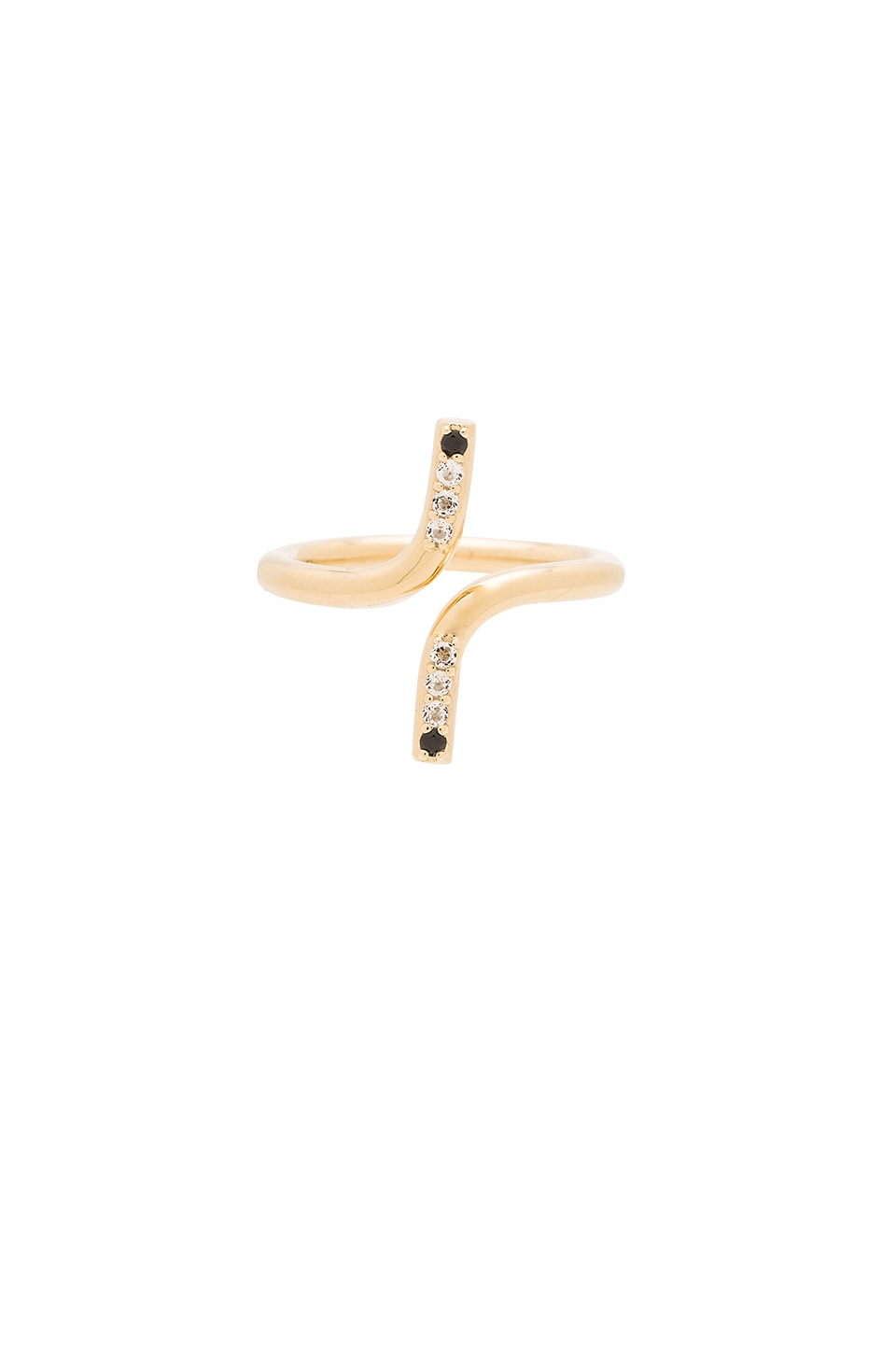 Elizabeth and James Klint Ring in Yellow Gold
