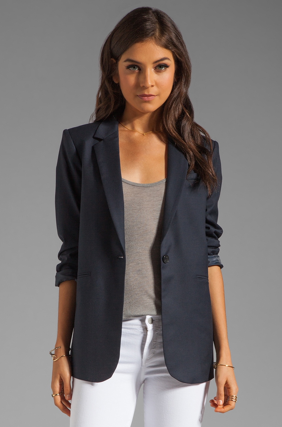 Elizabeth and James Heather Blazer in Classic Navy