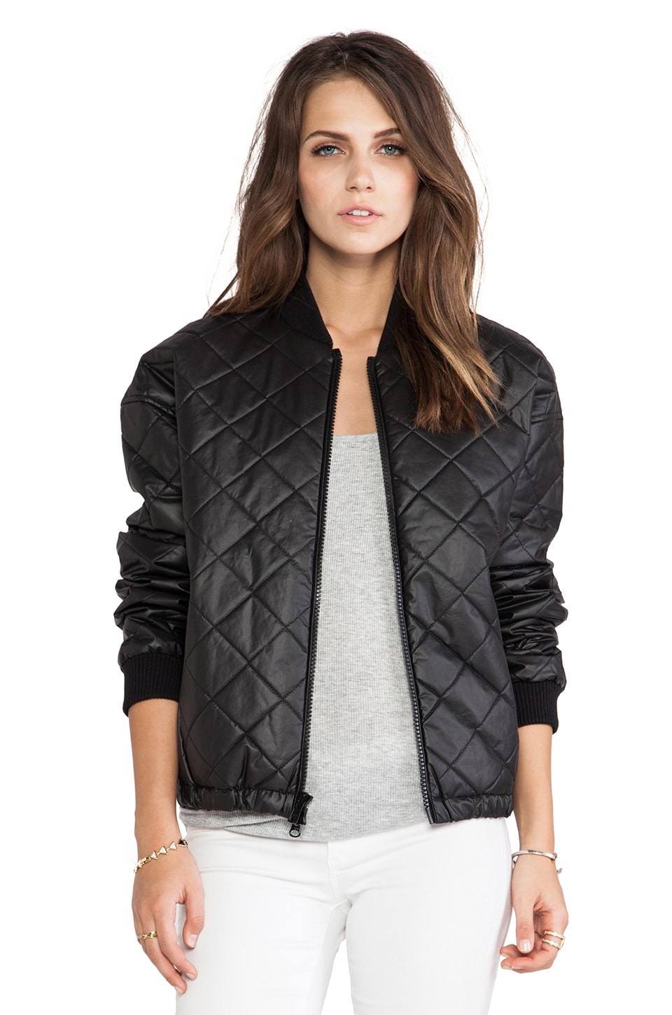 Elizabeth and James Lena Jacket in Black