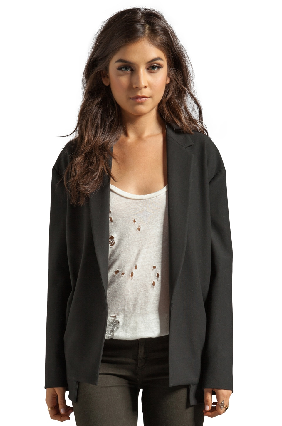 Elizabeth and James Brennan Jacket in Black