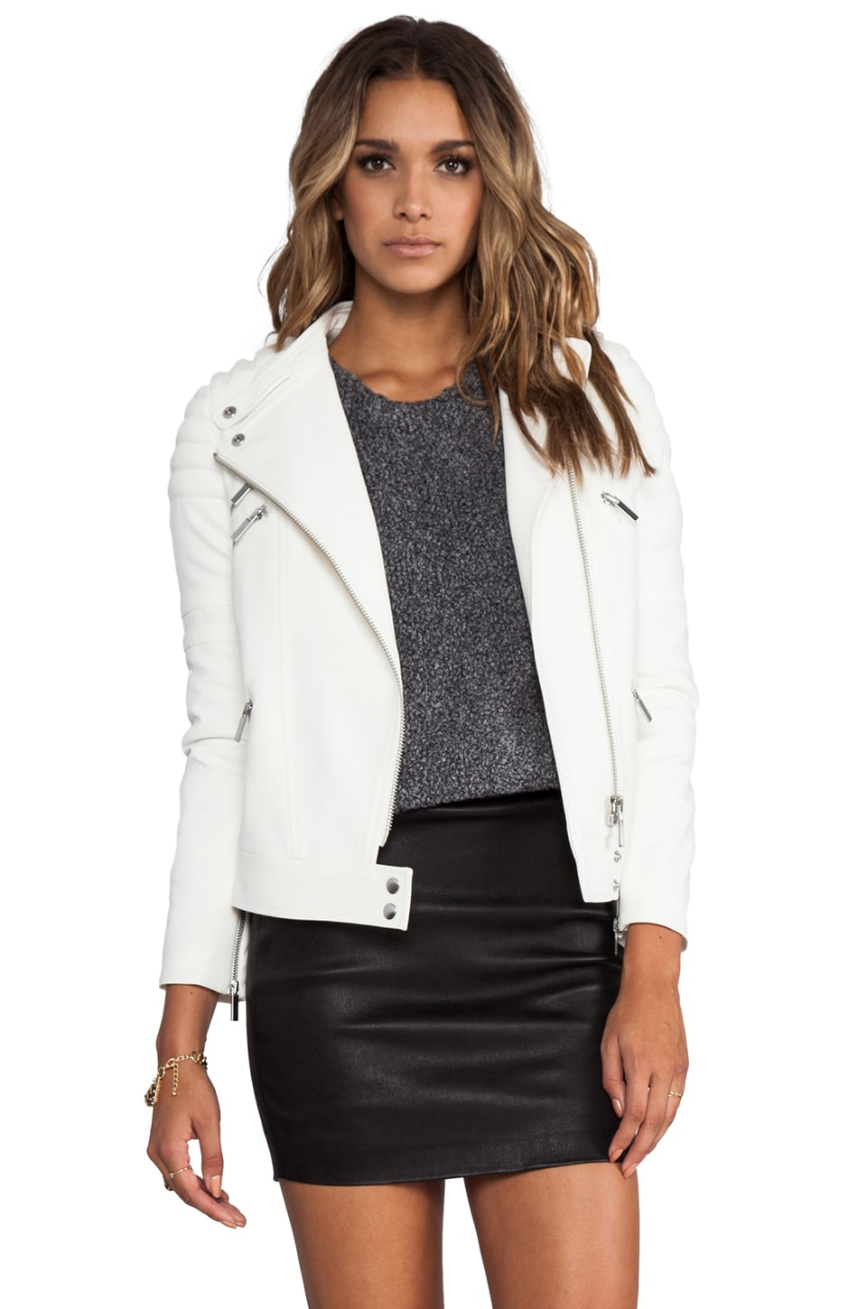 Elizabeth and James Culkin Jacket in Ivory