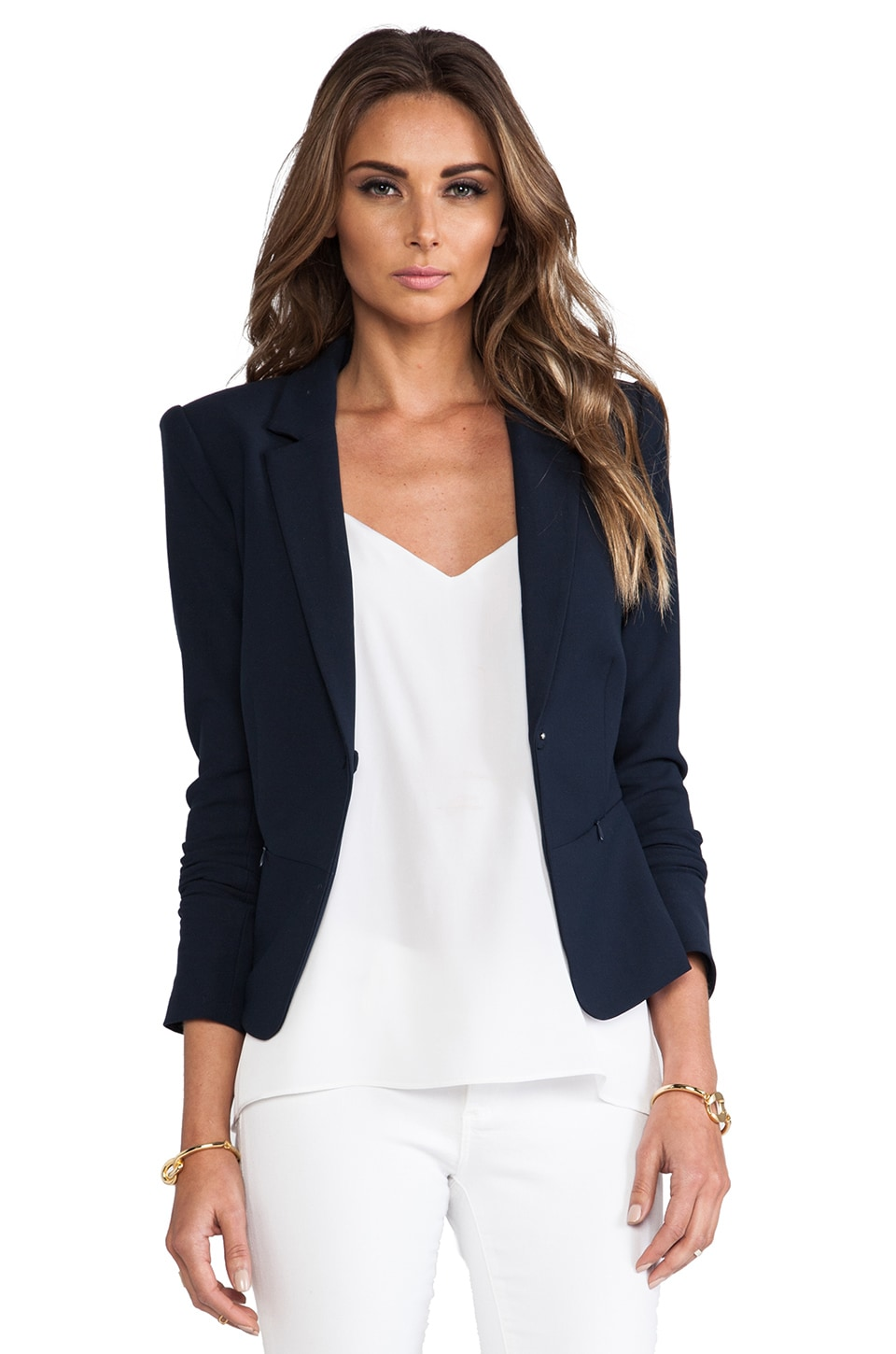 Elizabeth and James Jimmy Blazer in New Navy