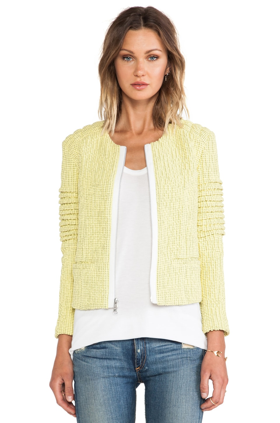 Elizabeth and James Bronco Jacket in Lemon Lime