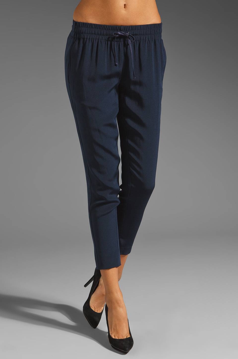 Elizabeth and James Jaidon Tux Pant en Marine