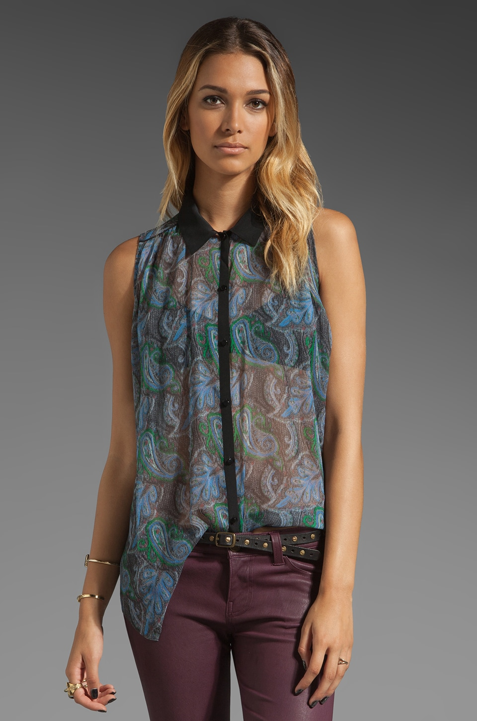 Elizabeth and James Kendra Top in Multi
