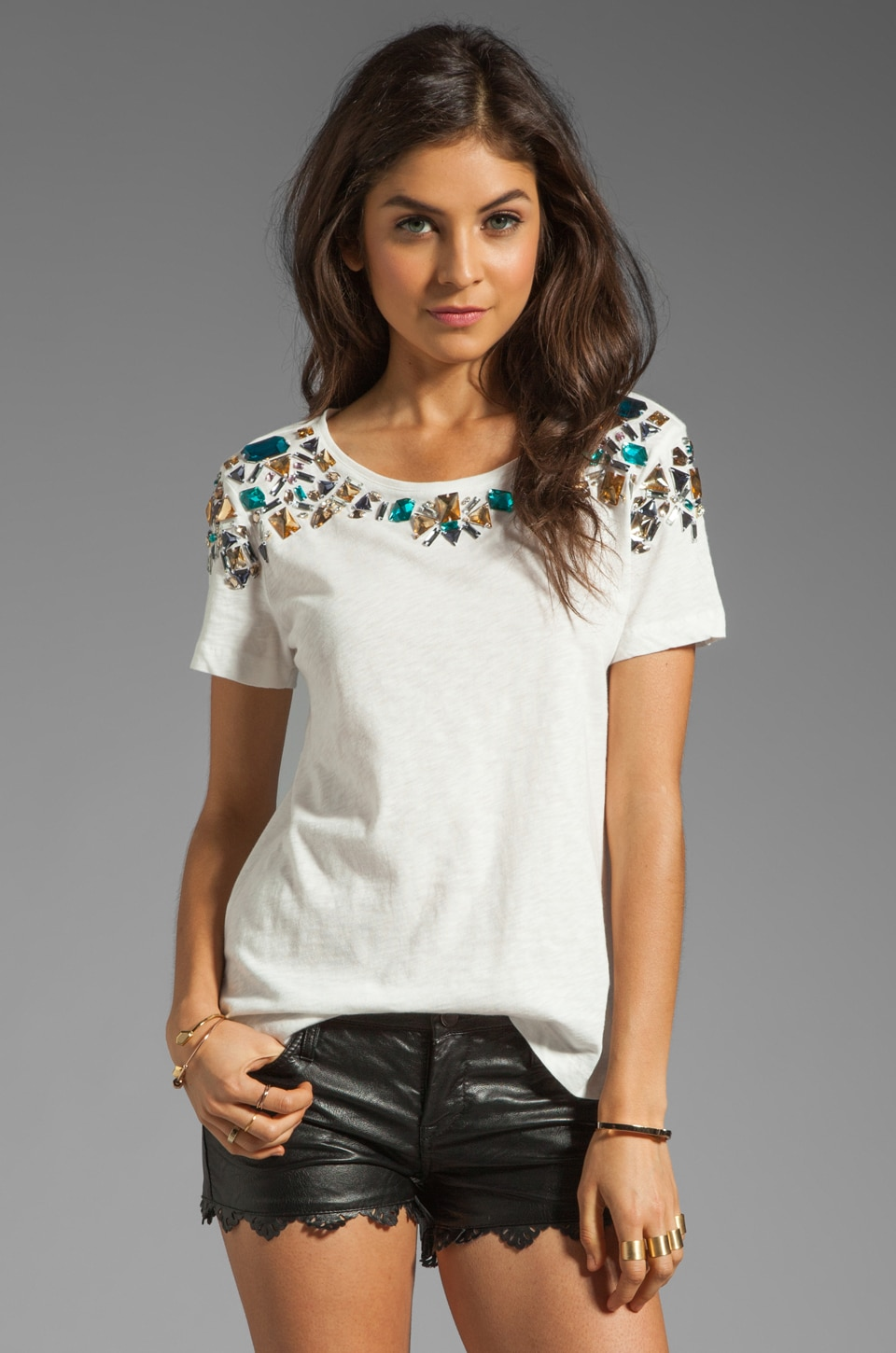 Elizabeth and James Victoria Tee in Ivory