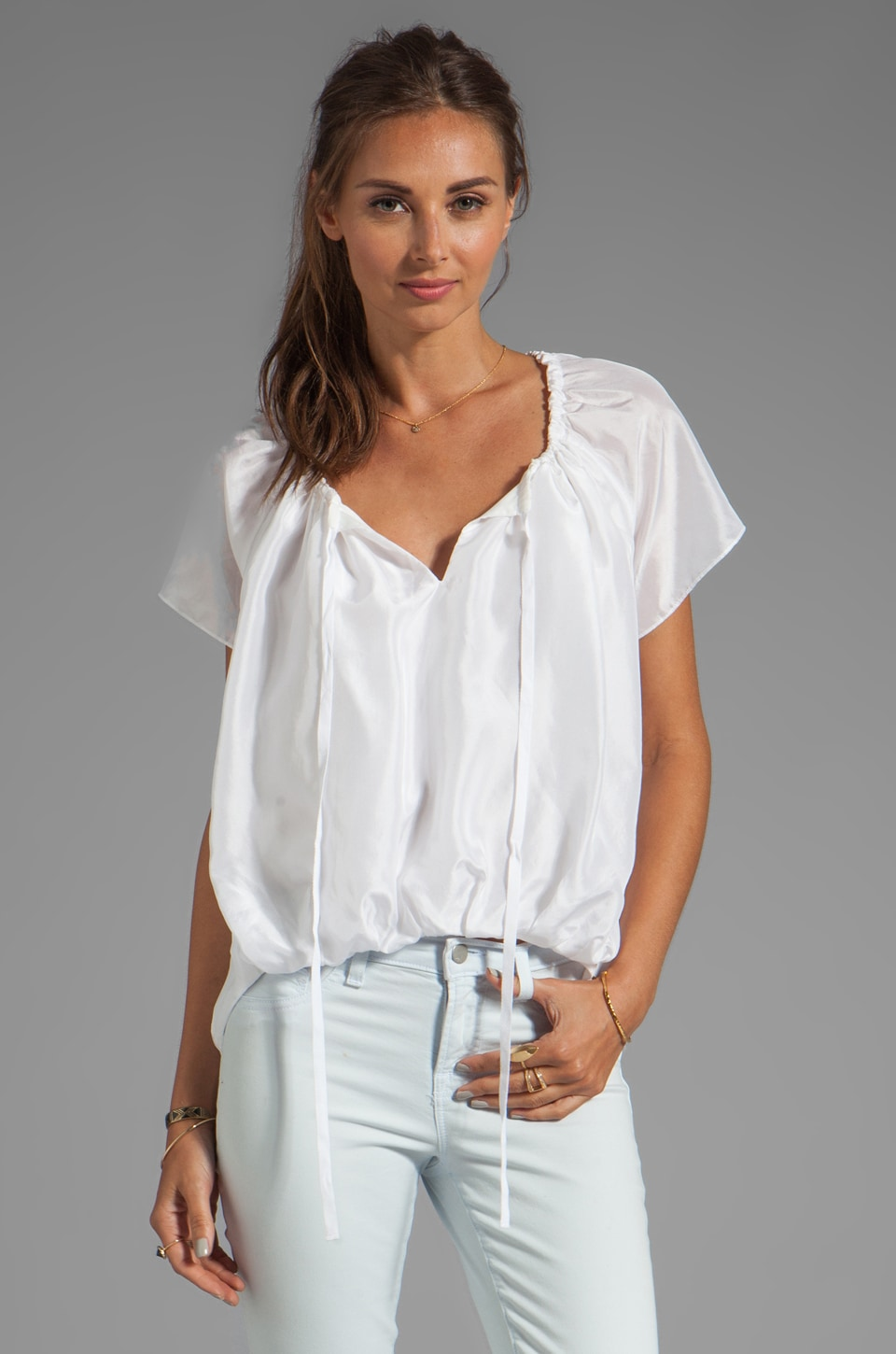 Elizabeth and James Isa Top in Bone