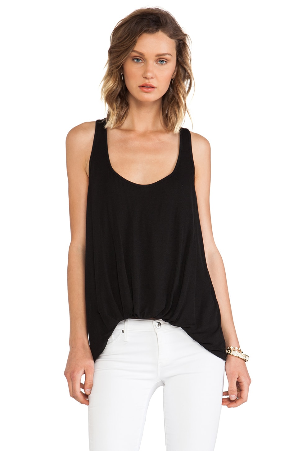 Elizabeth and James New Kim Top in Black