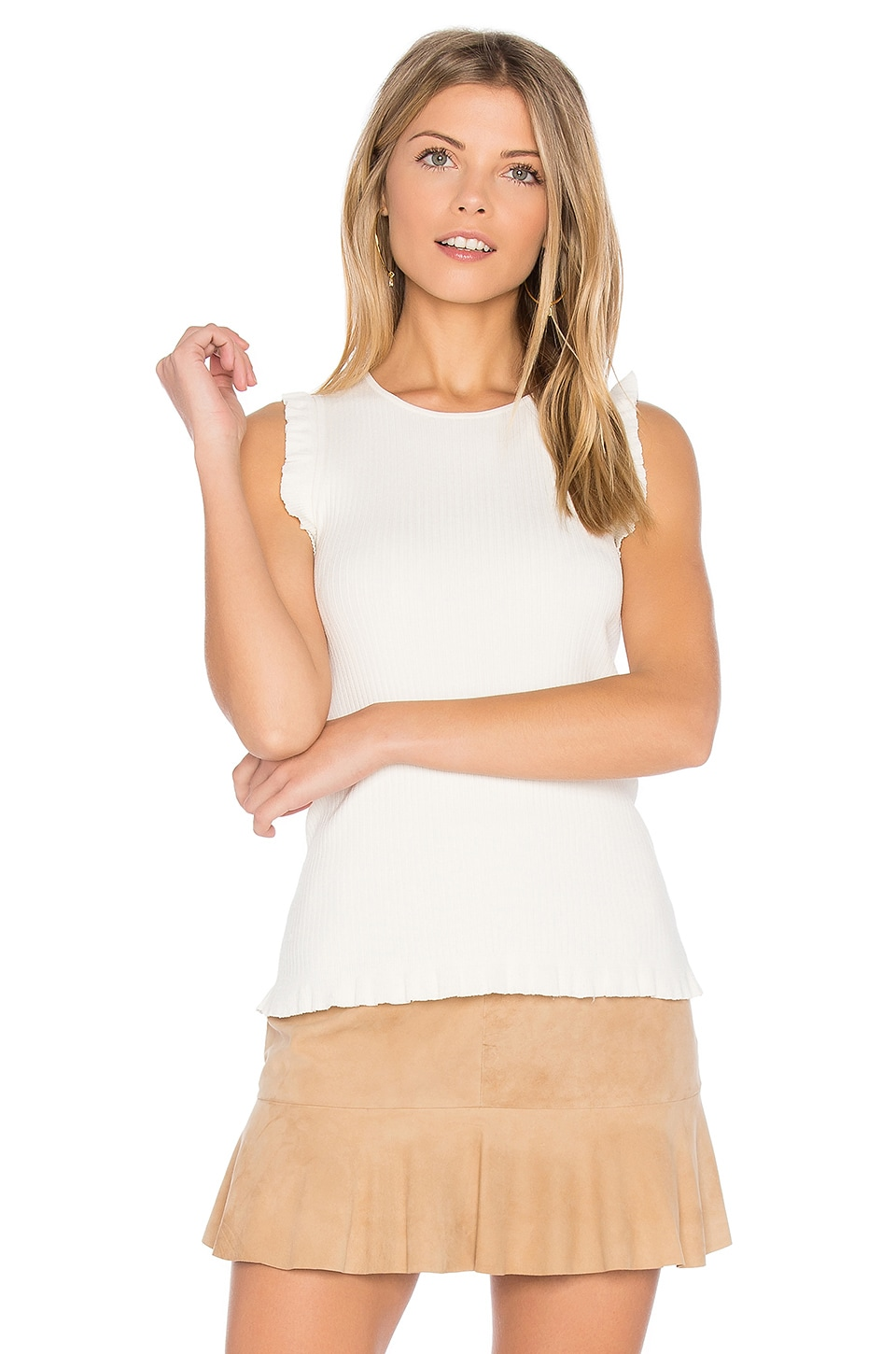 Elizabeth and James Clementine Tank in Ivory