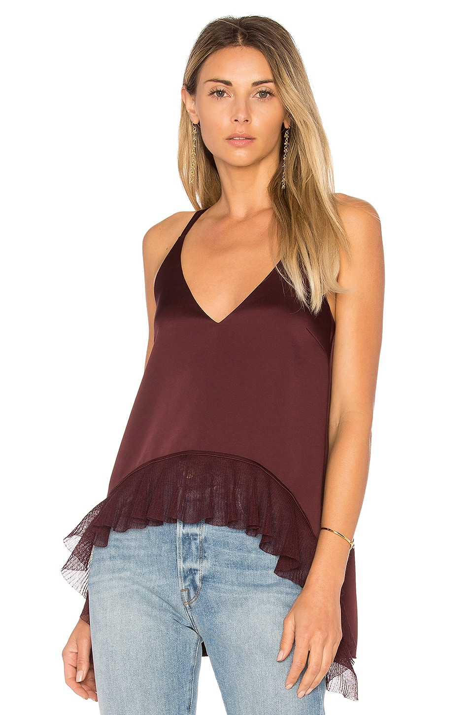 Manette Ruffle Tank by Elizabeth and James