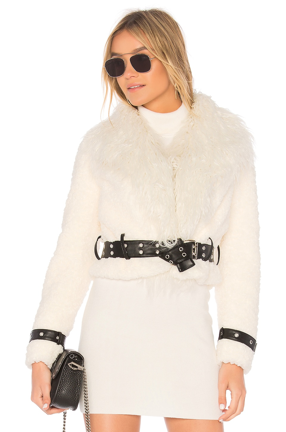 Caden Faux Fur Jacket by EAVES