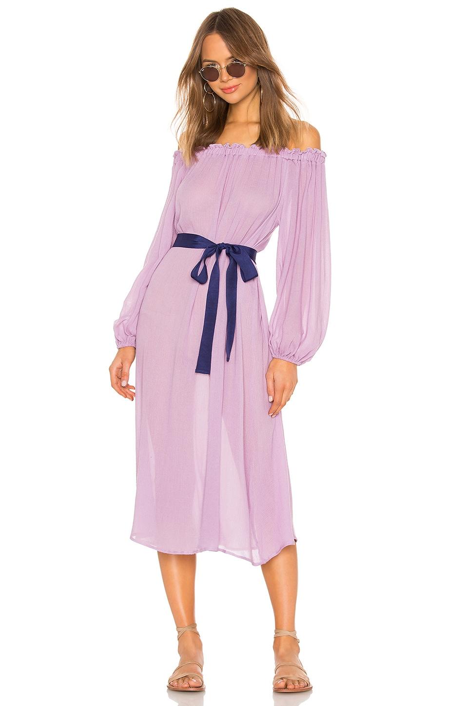 eberjey Summer Of Love Savannah Dress in Lavender Herb