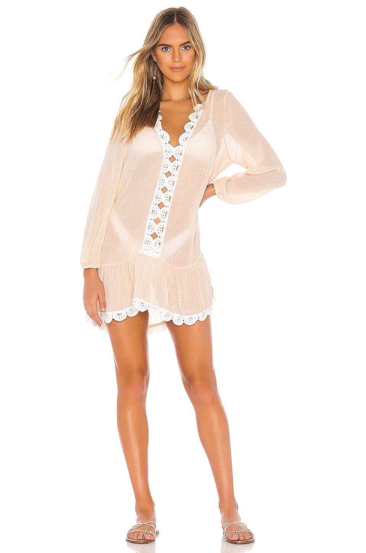eberjey Summer Of Love Elba Dress in Wheat