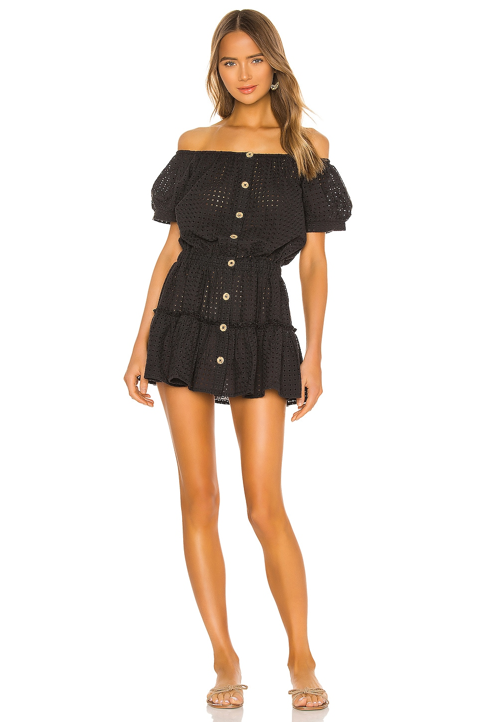eberjey x REVOLVE Harper Nellie Dress in Black