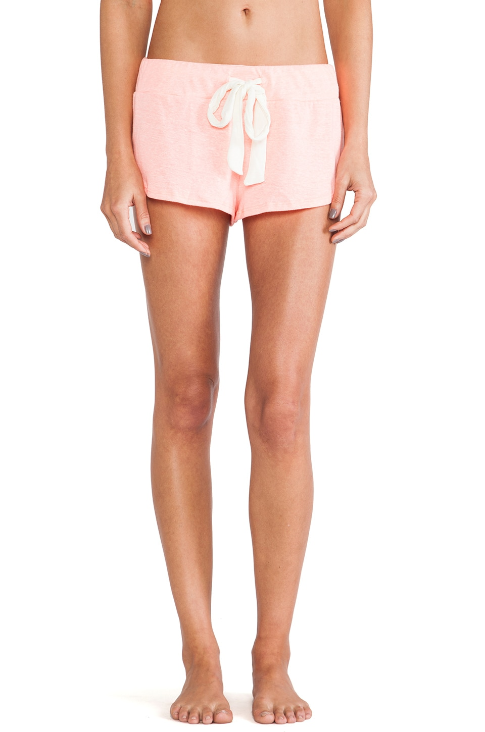 eberjey Heather Shorts in Melon Glow