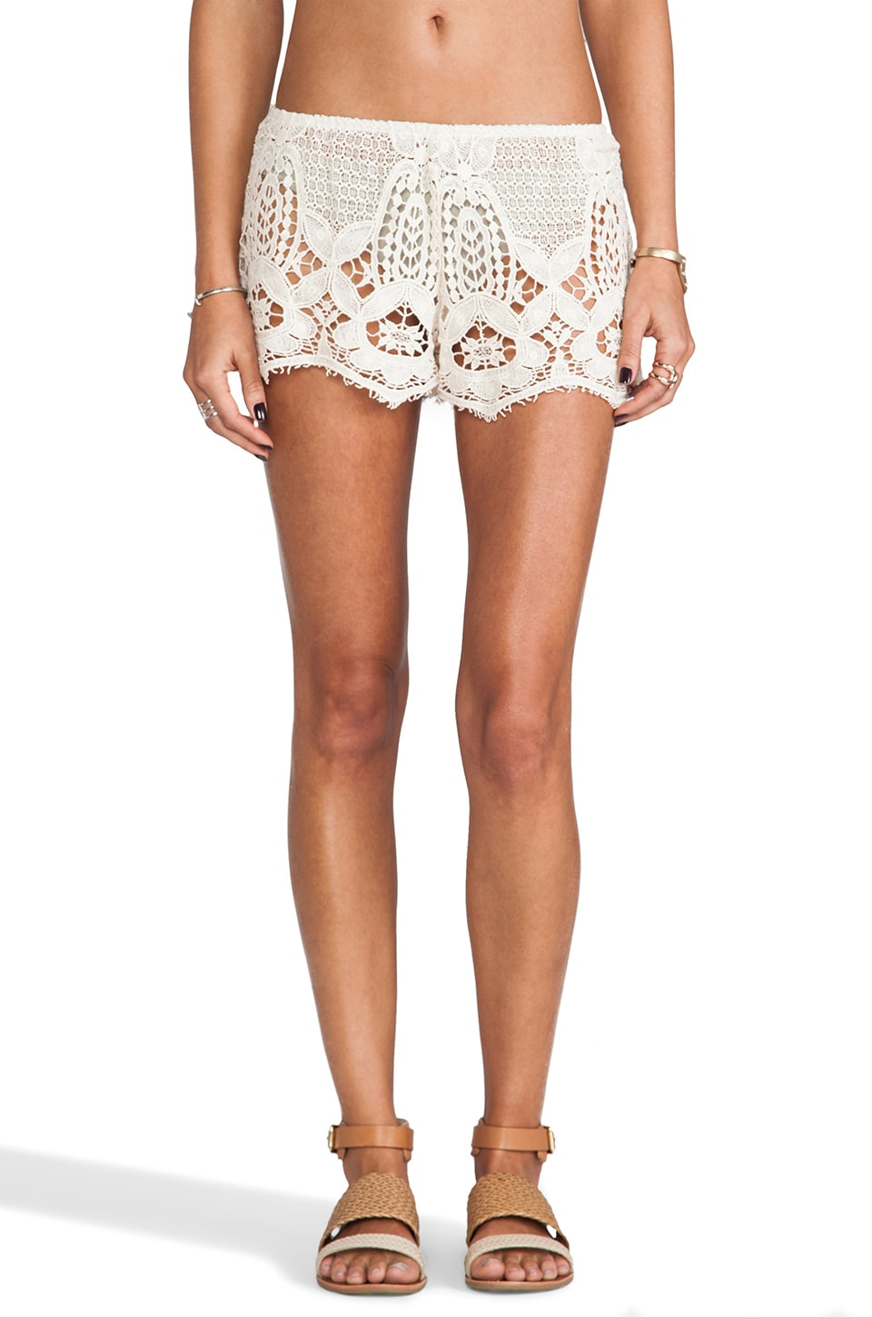 eberjey Sam Shorts in Natural