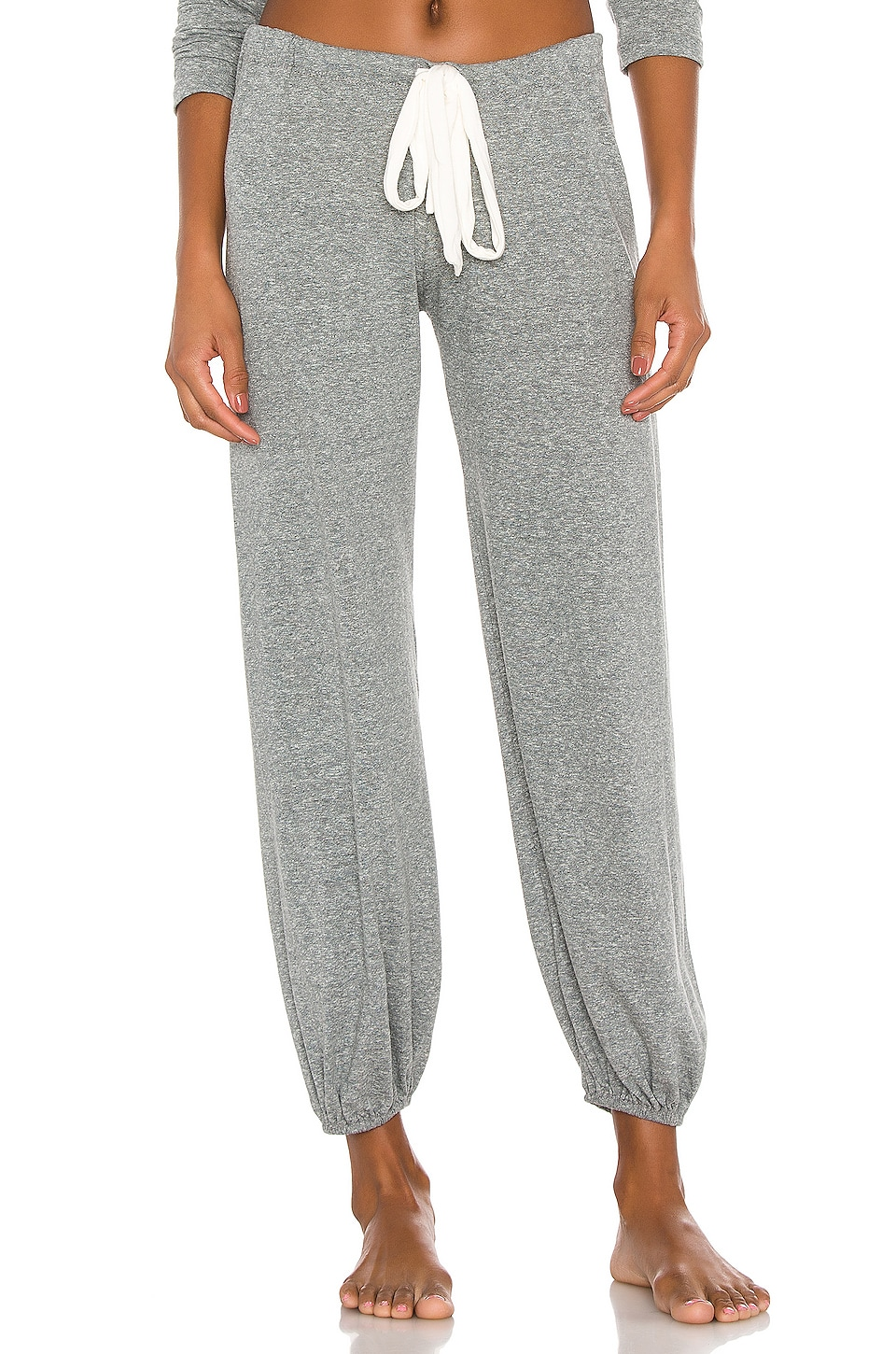 eberjey Heather Pant in Heather Gray