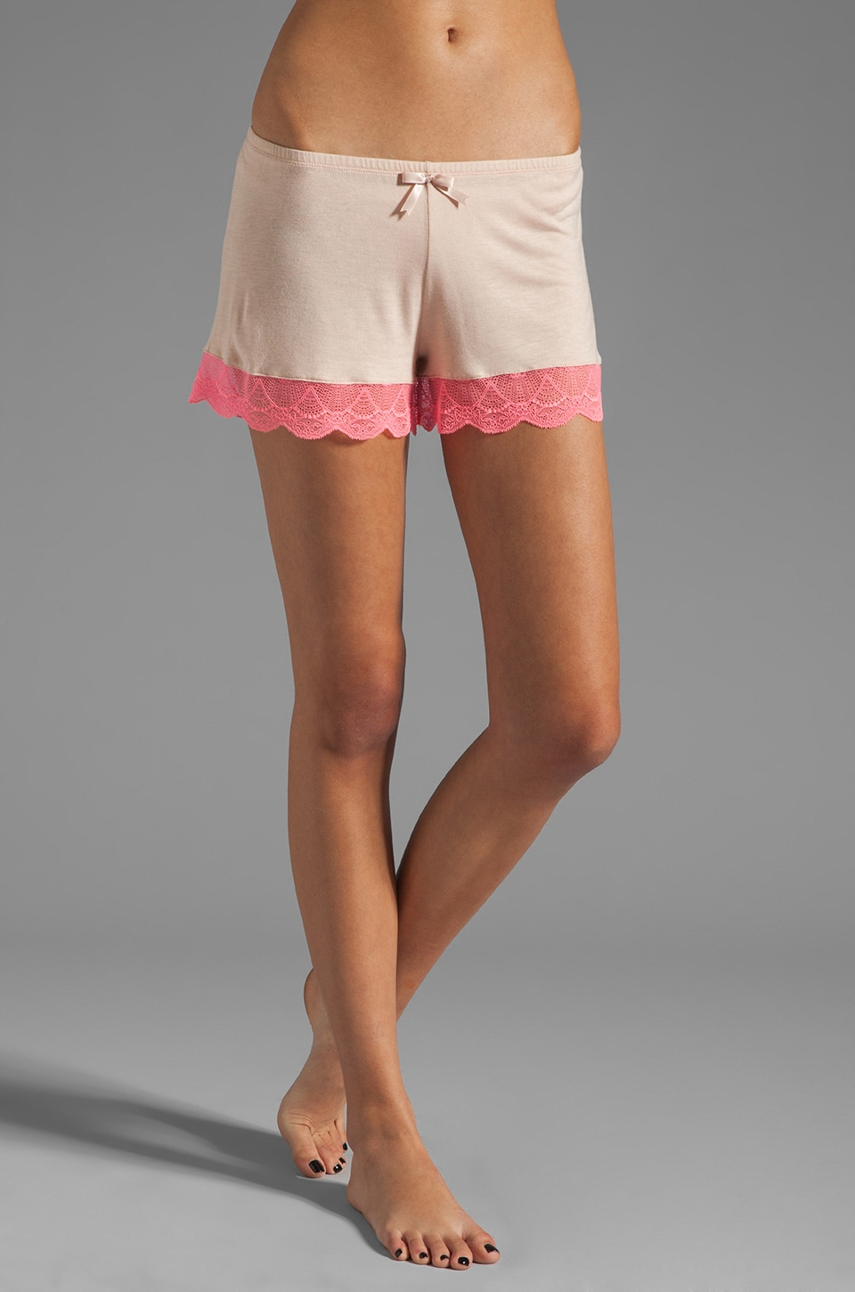 eberjey Theodora Shorts in Blush/Pink Glow